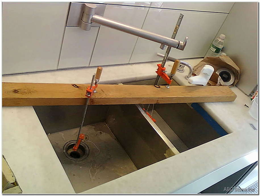 Dropped Sink Re Installation
