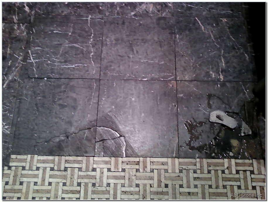 Floor Tiles Replacement Before