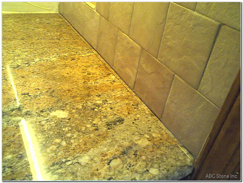 Granite Seam Before Repair Gallery
