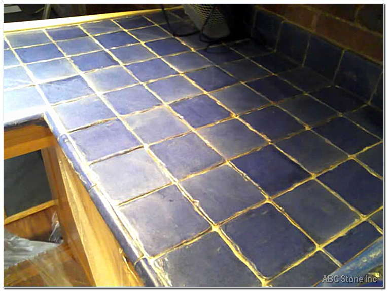 Tiled counter before regrouting gallery How to regrout bathroom tiles