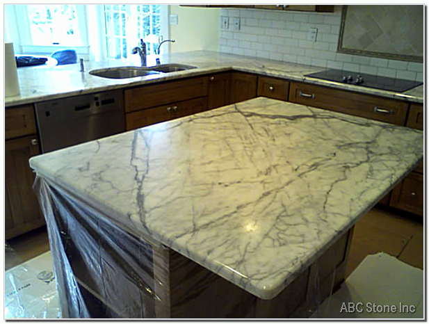 Kitchen Island Surface Dull Restoration