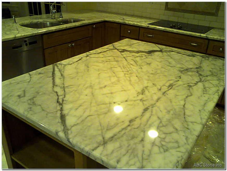 Kitchen Island Surface Polish Restoration