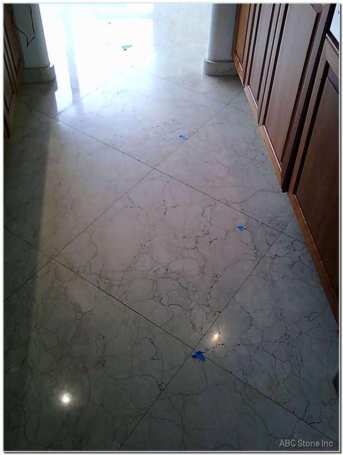 Kitchen Worn Floor