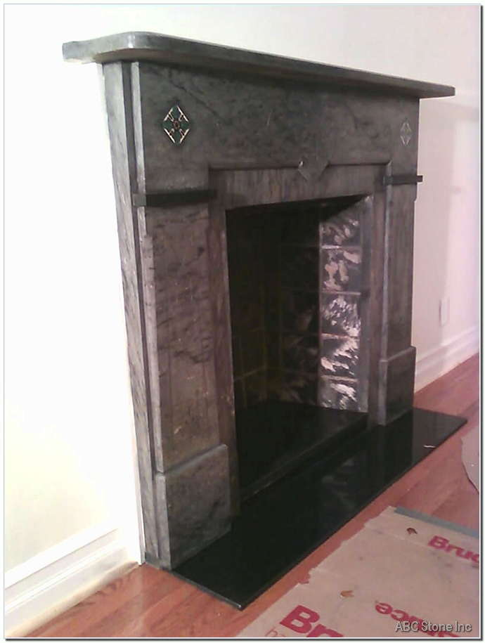 Marble FireplaceAfter
