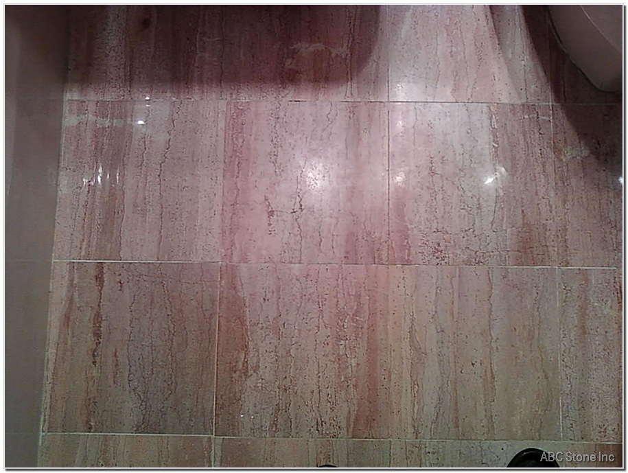 Dull Bathroom Floor