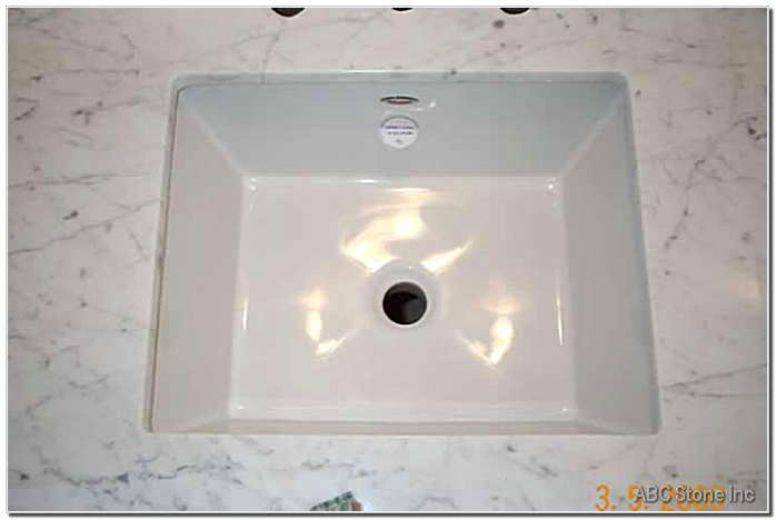Marble Sink Installation