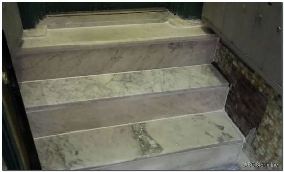 Marble Step Replaced