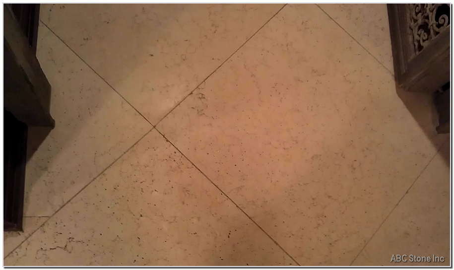 Marble Tile Fixed Crack