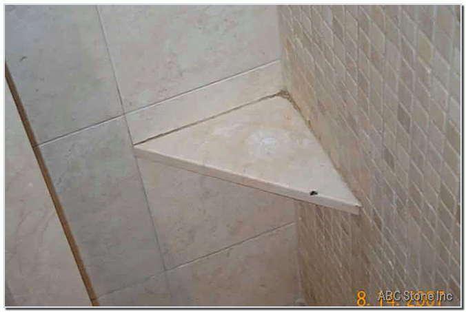 Mold on Shower Shelf