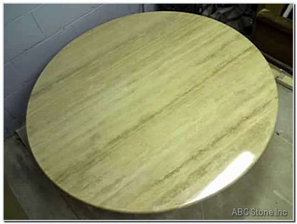 Restored Marble Table