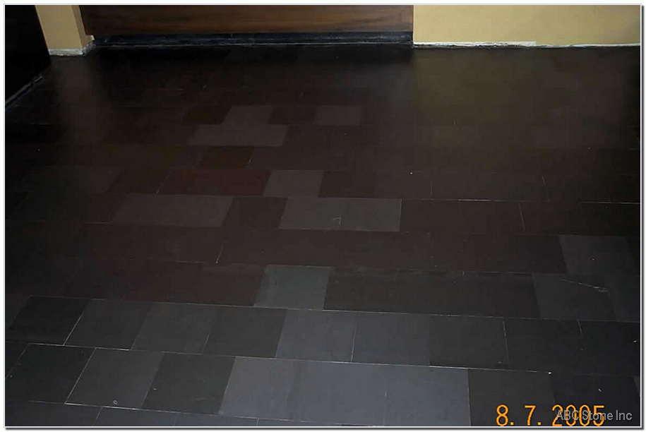 Sealed Slate Floor