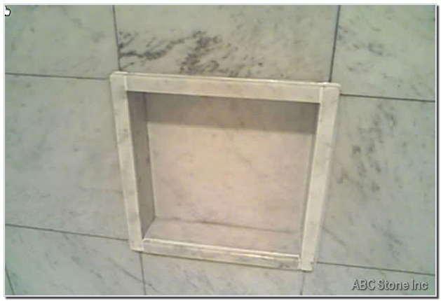 Shower Shelf Restoration